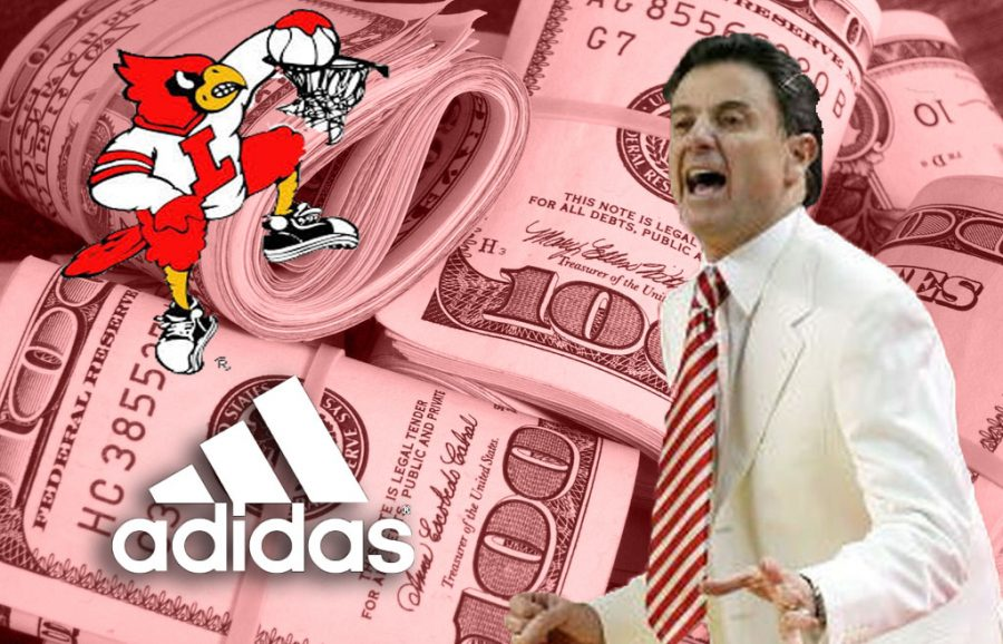 Louisville at the top of NCAA's latest allegations involving the payment of players by athletic apparel brands
