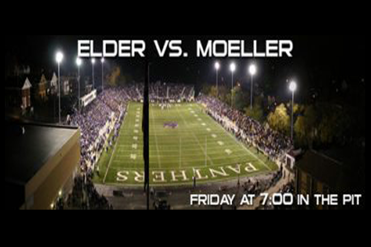 Elder takes on Moeller this Friday, October 6 at the Pit.