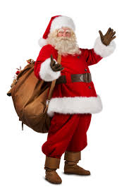 Santa+with+a+sack+of+toys%2C+proof+he+is+different+than+St.+NIck