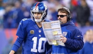 Eli and McAdoo discuss a questionable play-call