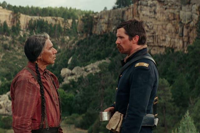 Joseph Blocker looks at Cheyenne Chief Yellow Hawk