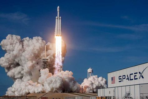 Musk's Falcon launches new era in space race