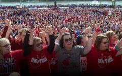 West Virginia teachers strike for higher pay