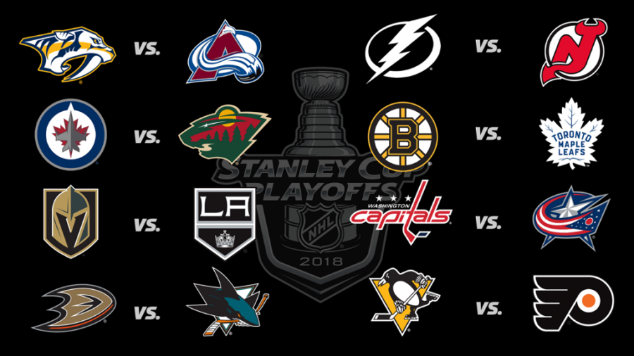 1st round of the NHL Playoffs are underway