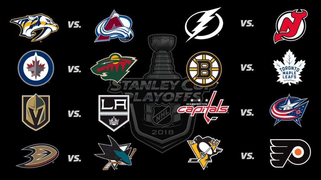 1st round of the NHL Playoffs are underway