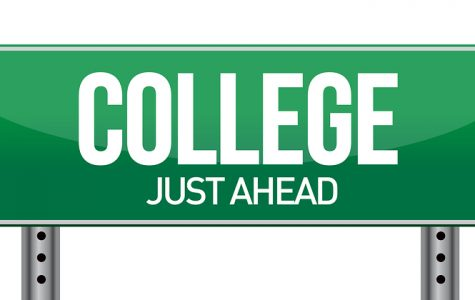 college is creeping around the corner.