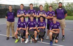 Elder Tennis swings into action