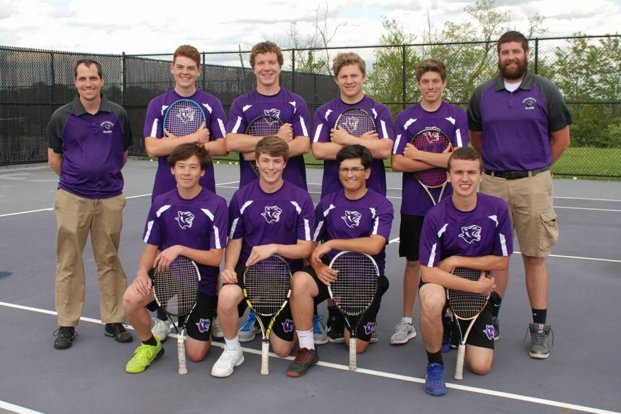 Elder Tennis swings into action