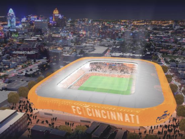 FC Cincinnati's new stadium can begin construction
