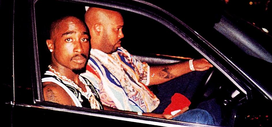 The last picture taken of Tupac before his death