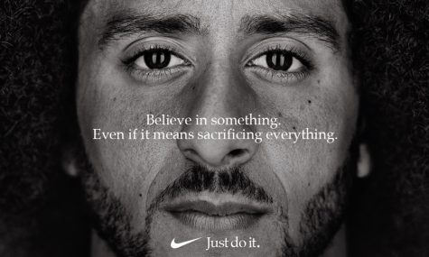 A new Nike advertisement features former NFL quarterback Colin Kaepernick. [Via MerlinFTP Drop]