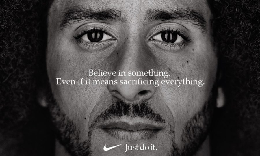 A+new+Nike+advertisement+features+former+NFL+quarterback+Colin+Kaepernick.+%5BVia+MerlinFTP+Drop%5D