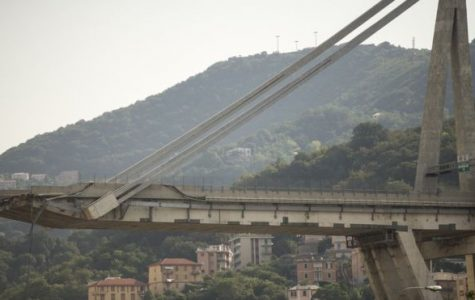 Horrible bridge collapse in Italy