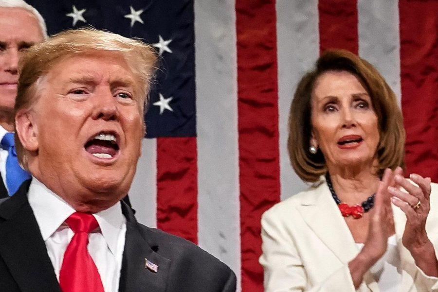 Trump vs. Pelosi all 2019