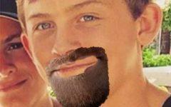 Byrne has a goatee
