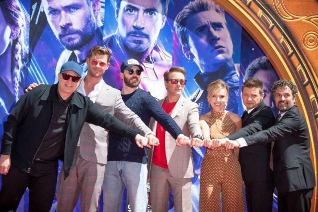 Main+cast+of+Avengers%3A+Endgame+