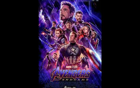Promotional poster for Avengers:Endgame