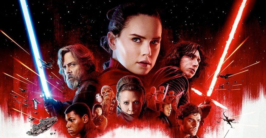 'Star Wars: The Last Jedi' poster art. (Lucasfilm)