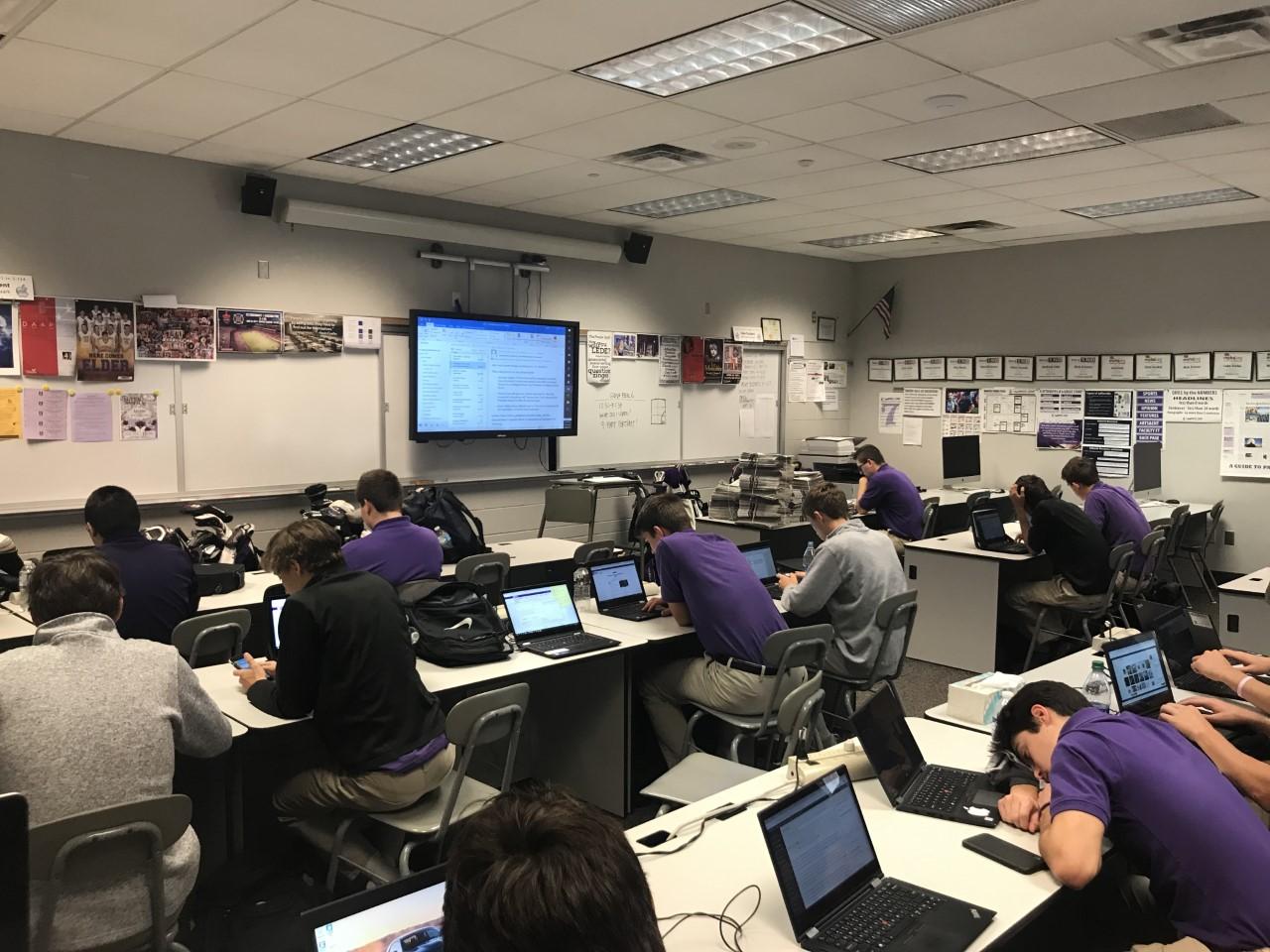 Class in flex period