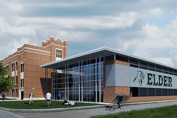 Architect's rendering of the new PFC.