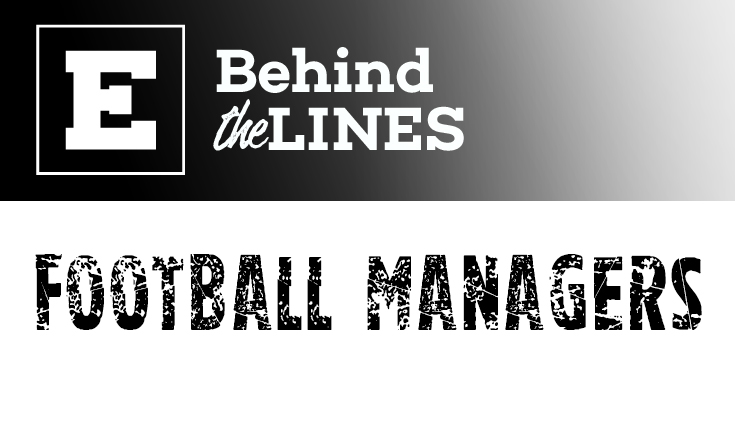 Behind the lines: Football managers Kock and Bailey