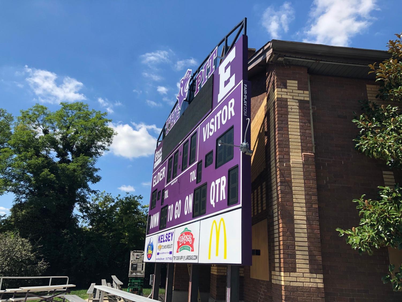 Side+view+of+the+scoreboard