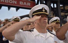 Finley's full days at the Merchant Marine Academy