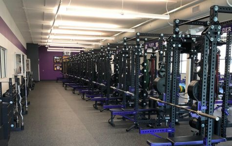 The site of it all: the Panther Fitness Center