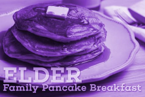 The Elder Pancake Breakfast is a long-standing tradition at our school.