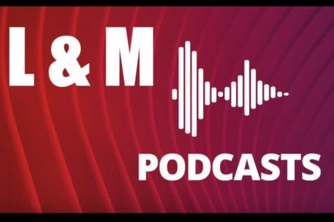 Logo designed for the LM Podcast that is actually a video; not a podcast.