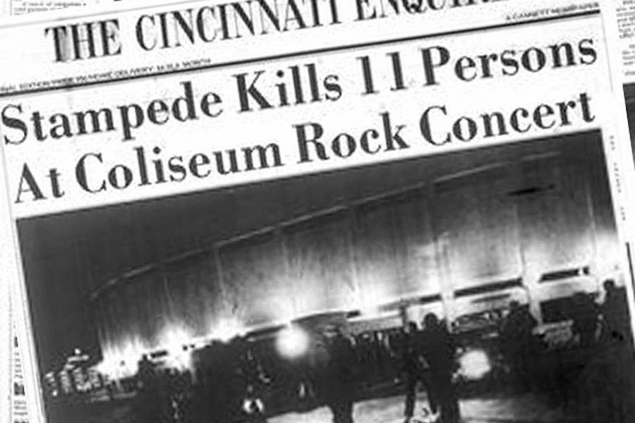 Newspaper+that+was+published+after+the+December+3%2C+1979+tragedy+in+downtown+Cincinnati.++