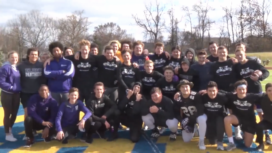 Band takes on Glee Club in annual Turkey Bowl