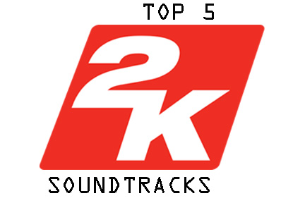 What are the top 5 2k soundtracks of the decade?