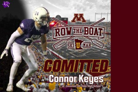 Elder linebacker/edge Connor Keyes is heading to Minnesota as a walk-on after a tumultuous journey.