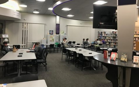 The Elder Library. A commonplace for students during study hall