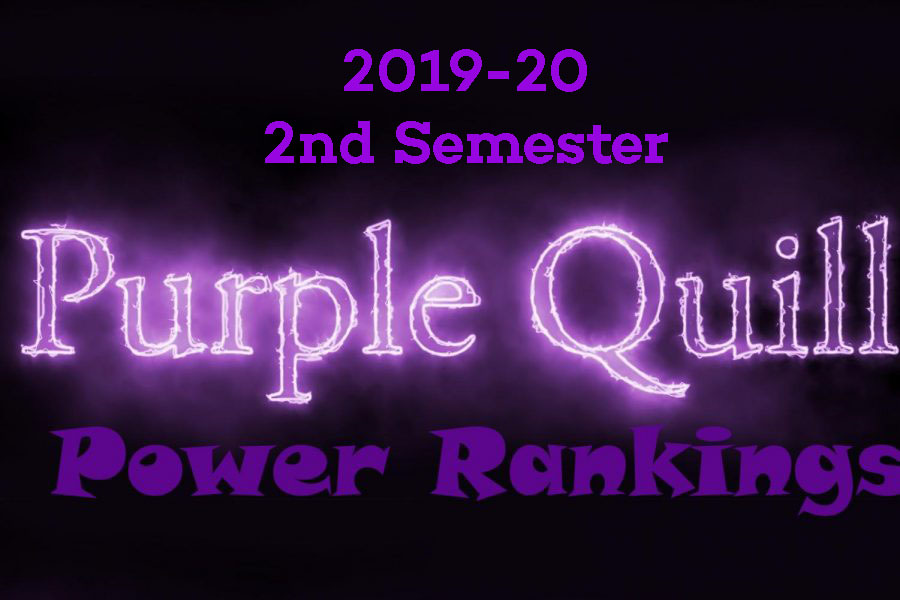 Introducing the 2019-20 2nd semester staff power rankings