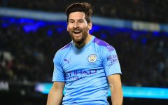Leo Messi in a Man City Jersey for the first time  Photoshoped