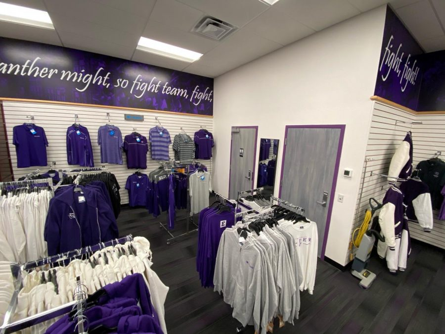 Showing off the changing room and bathroom, both new additions that the spirit store has never seen before