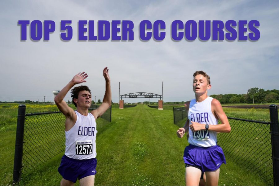 Andrew Amman (Left) and Kevin Schenkel (Right) mid race.