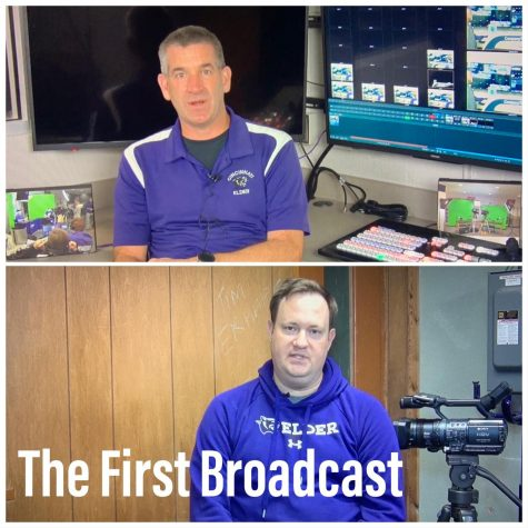The First Broadcast of a high school event in the country.