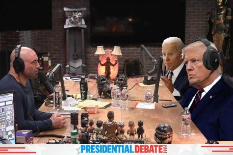What a Trump-Biden debate could look like on the Joe Rogan Experience