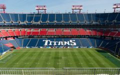 An empty Nissan Stadium waiting for the Titans to return.