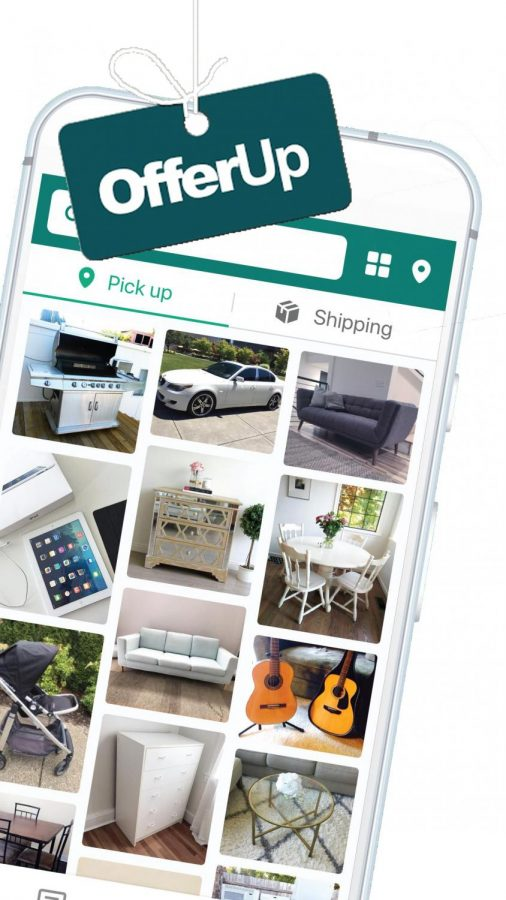 Offer+Up+being+shown+it+can+be+accessed+via+smart+phone%2C+and+multiple+different+products+on+the+app.+