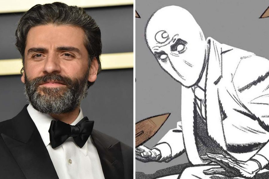 Oscar Isaac to star as Moon Knight in Marvel series.