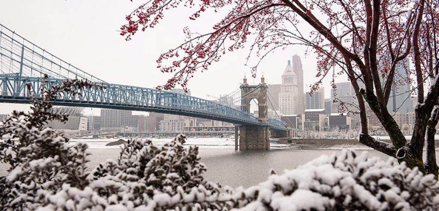 It is predicted that this winter in Cincinnati could be very snowy.