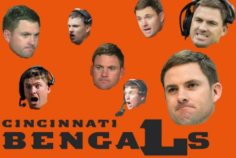 The many (mostly sad) faces of Bengals head coach Zac Taylor