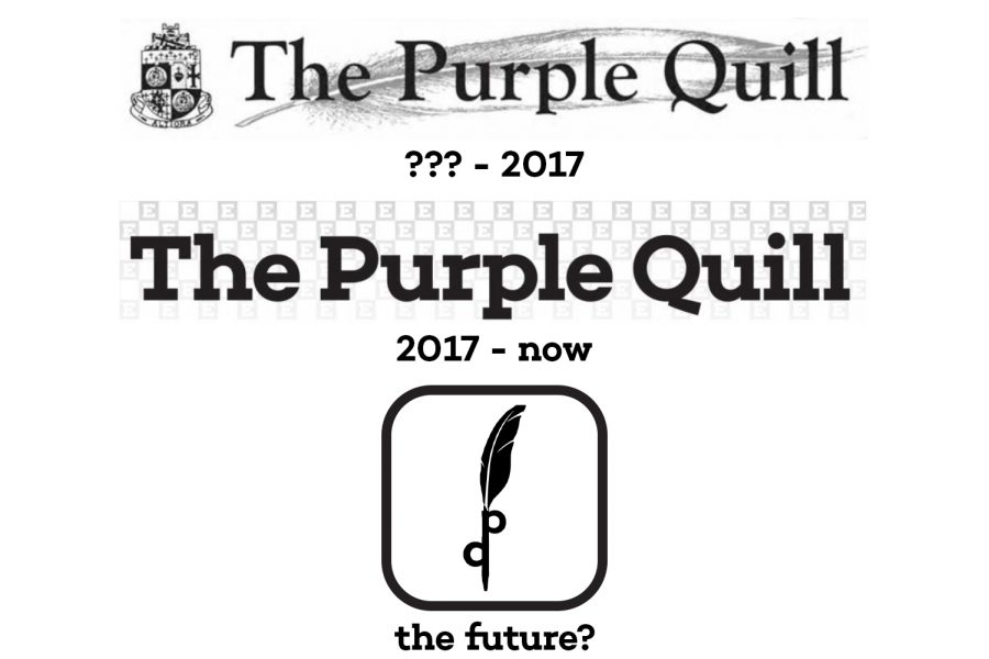 Could the Purple Quill see its logo succumb to the trend of oversimplification in the near future?