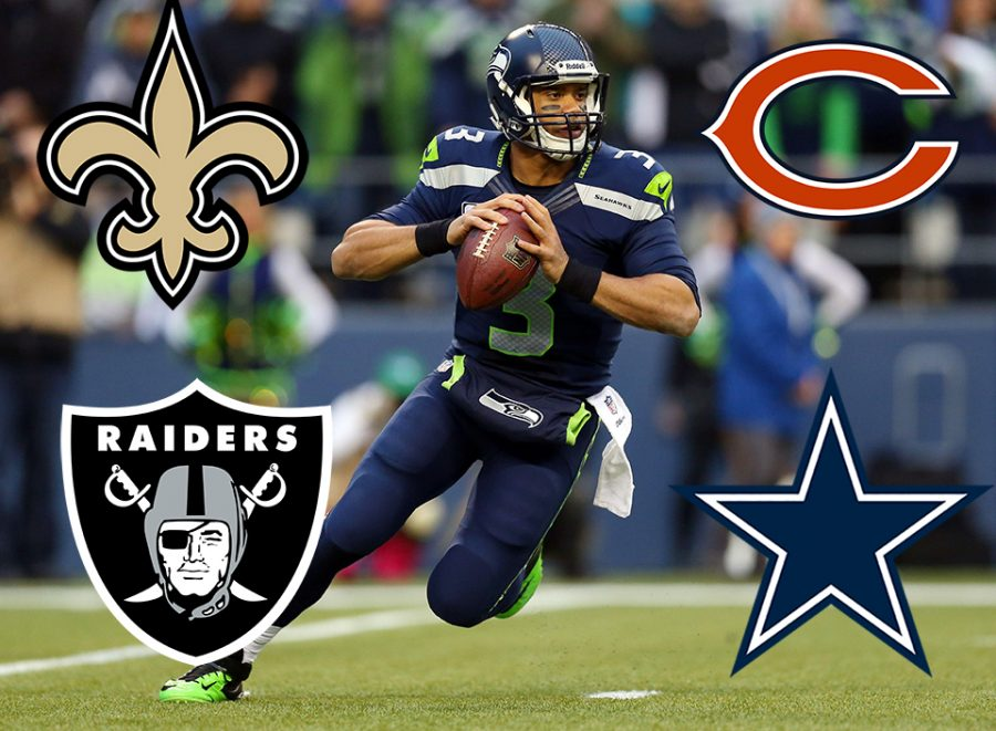 Russel Wilson's four choices if these did not end up working out in Seattle