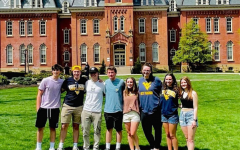 My most recent visit to West Virginia University with some friends that are also attending.