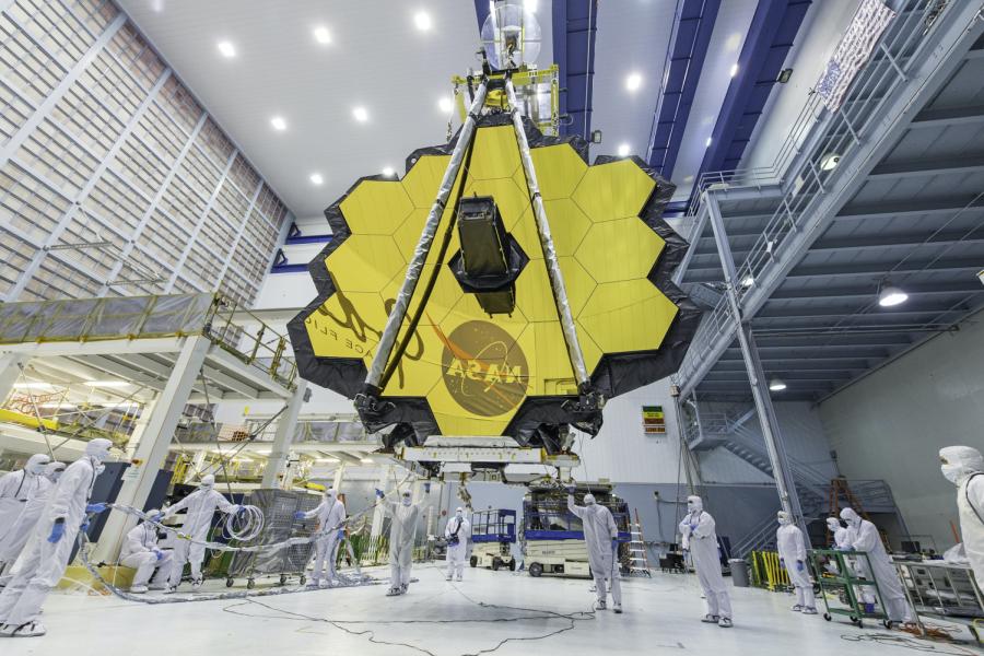 NASAs James Webb Space Telescope prepares for long awaited December Launch.
